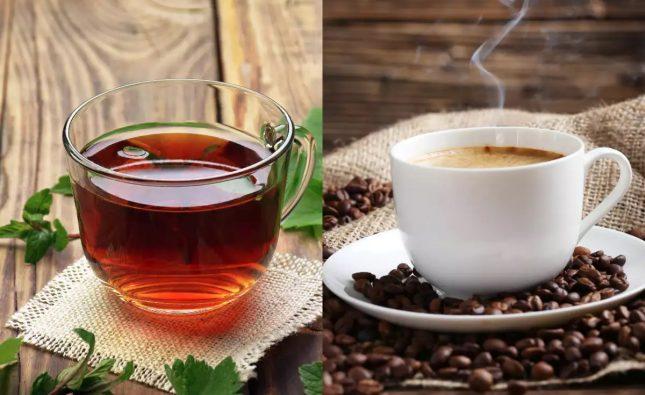 Ceai negru vs cafea neagra